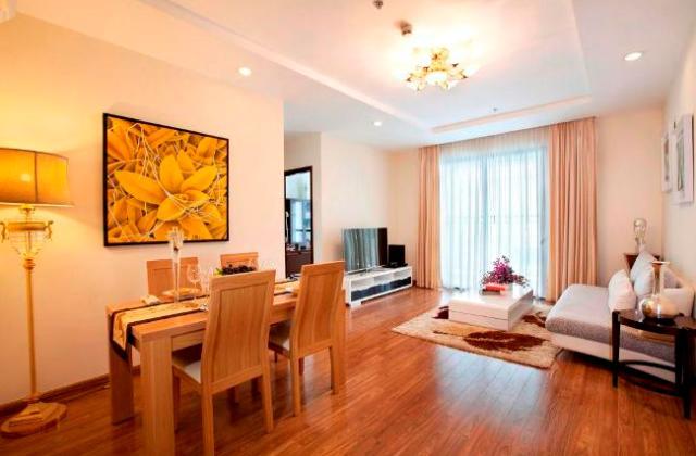 Không gian phòng khách căn hộ Times City